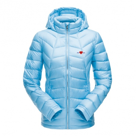 Veste de Ski Femme Spyder Bleu • Vague d'Amour • La Vague d'Amour